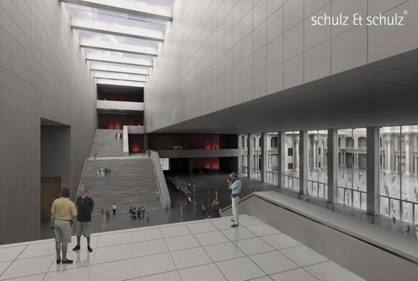 Visualisierung Wettbewerb Humboldt-forum (c) schulz & schulz 2008