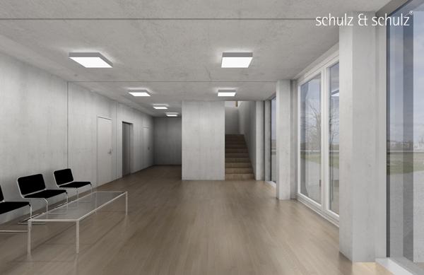 Raumsimulation Erweiterungsgebäude IfT (c) schulz & schulz 2010