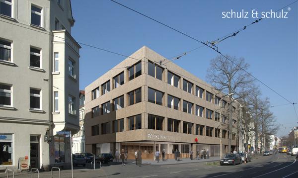 Fotomontage Polyklinik Connewitz (c) schulz & schulz 2009